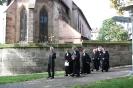 Auszug aus der Kirche